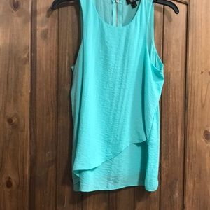 Mint sleeveless tank
